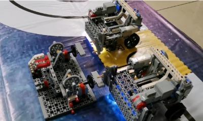 教育机器人编程|两光电走线|PID巡线编写|scratch光电走线教程|主程序